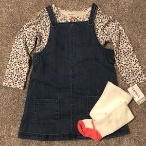NWT ✨ Carter's Toddler Girl 3 Piece Set
